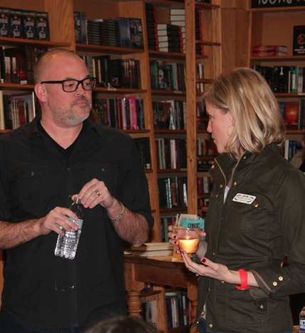 "With ""Q"" -- Matthew Quick, author of Silver Linings Playbook and The Good Luck of Right Now -- for a book chat at Parnassus."