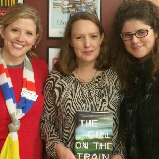 Paula Hawkins' first US tour for The Girl on the Train